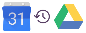 Backup Google Calendar data to Google Drive