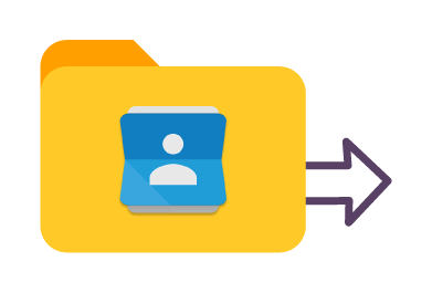 Move Google Contacts in bulk