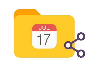Manage permissions of iCal shared Calendar