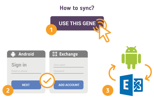 How to Sync Android with Microsoft Exchange?