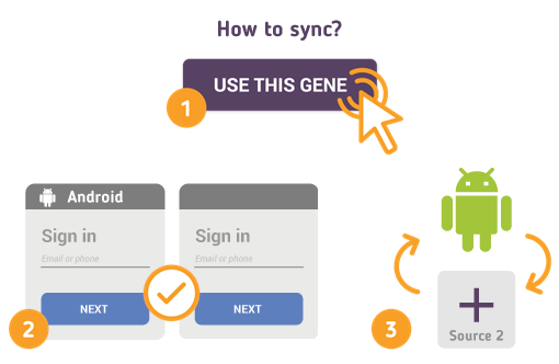 How to Synchronize your Android with SyncGene?