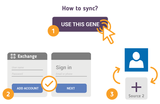 How to Synchronize your Exchange Contacts with SyncGene?