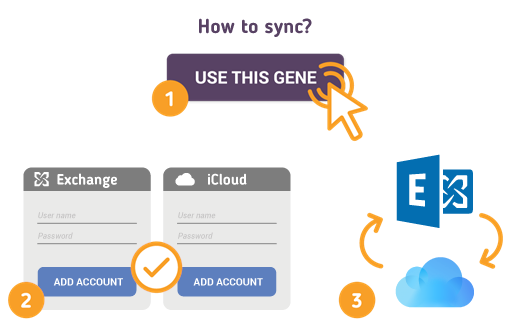How to Sync Microsoft Exchange with iCloud?
