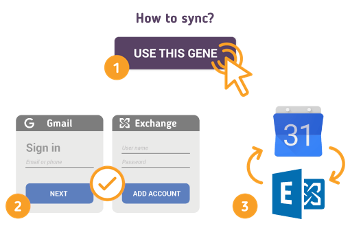 How to Sync Gmail Calendar with Microsoft Exchange?