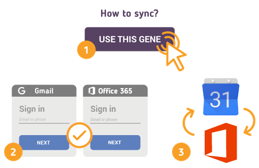How to Sync Gmail Calendar with Office 365?