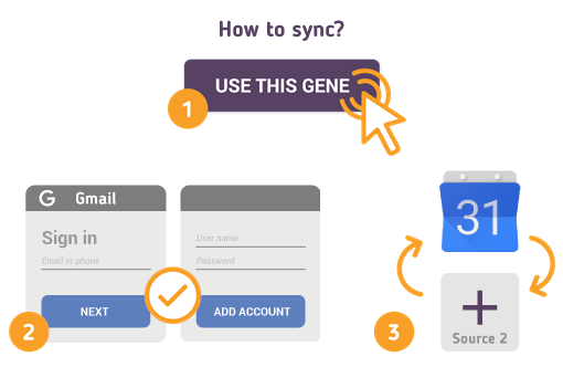 How to Synchronize your Gmail Calendar with SyncGene?