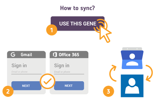 How to Sync Gmail Contacts with Office 365 Contacts?