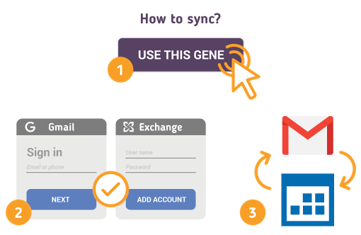 How to Sync Gmail with Exchange Calendar?