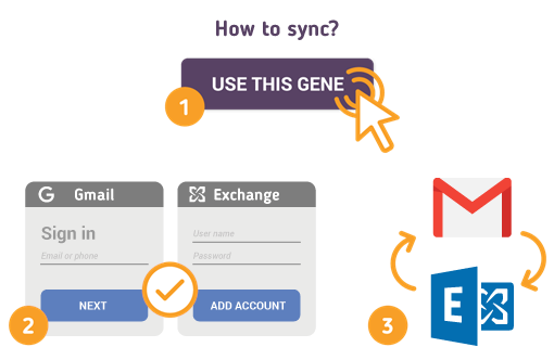 How to Sync Gmail with Microsoft Exchange?