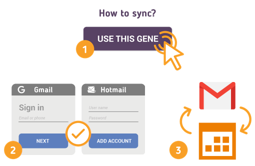 How to Sync Gmail with Hotmail Calendar?