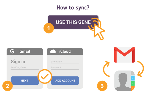 How to Sync Gmail with iCloud Contacts?