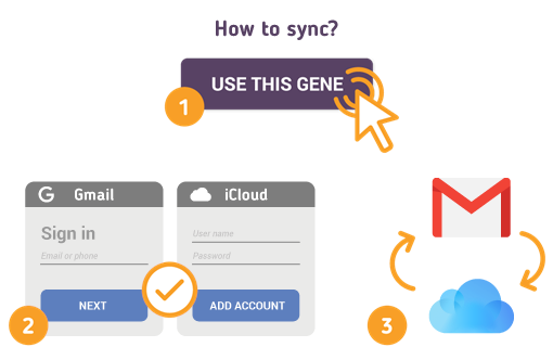 How to Sync Gmail with iCloud?