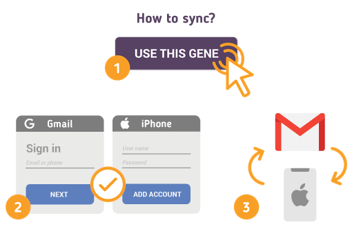 How to Sync Gmail with iPhone?
