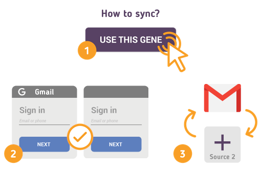 How to Synchronize your Gmail with SyncGene?