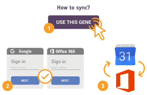 How to Sync Google Calendar with Office 365?
