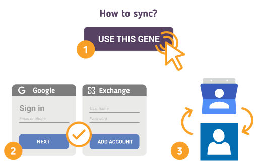 How to Sync Google Contacts with Exchange Contacts?