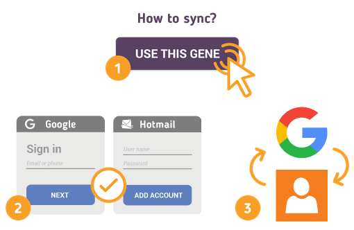 How to Sync Google with Hotmail Contacts?