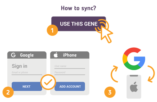 How to Sync Google with iPhone?