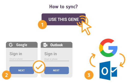 How to Sync Google with Outlook?