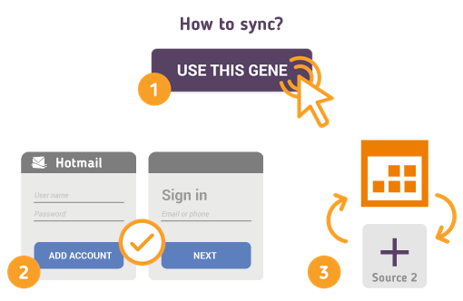 How to Synchronize your Hotmail Calendar with SyncGene?