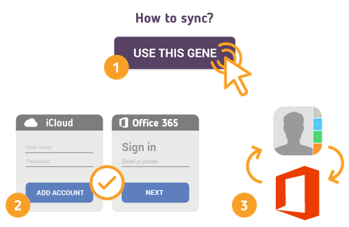 How to Sync iCloud Contacts with Office 365?