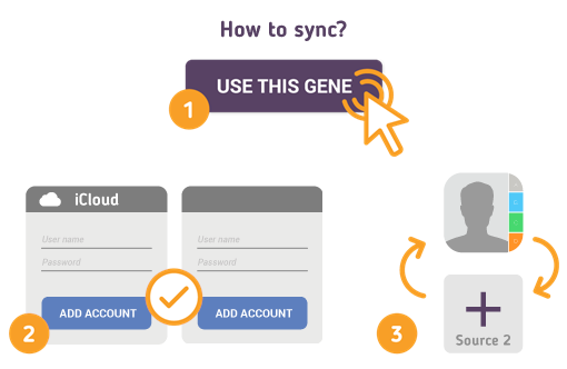 How to Synchronize your iCloud Contacts with SyncGene?