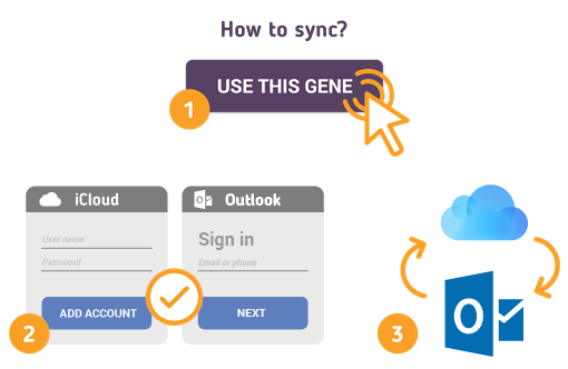 How to Sync iCloud with Outlook?