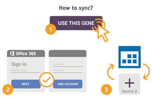 How to Synchronize your Office 365 Calendar with SyncGene?