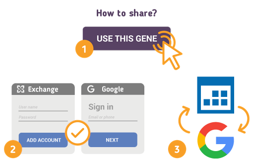 How to Share Exchange Calendar with Google?