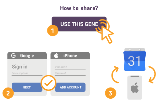 How to Share Google Calendar with iPhone?