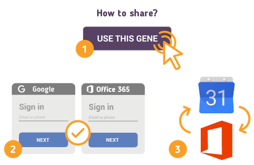 How to Share Google Calendar with Office 365?