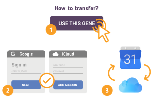 How to Transfer Google Calendar to iCloud?